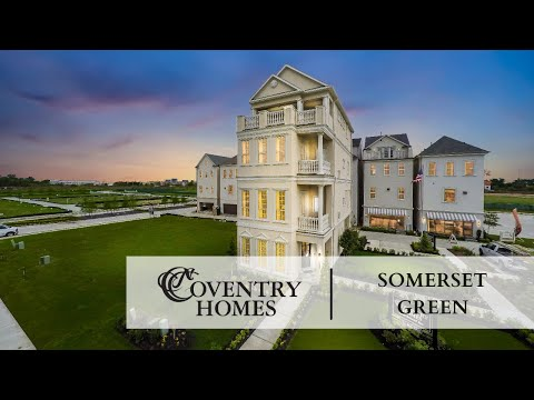 Somerset Green in Houston, TX :: New Homes by Coventry Homes on