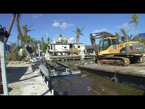 Canal Debris Removal in Monroe County, Florida