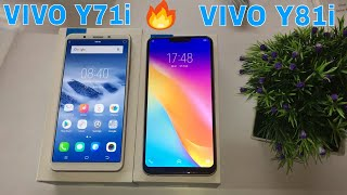 Vivo Y71i vs Vivo Y81i Unboxing review and compare in Hindi