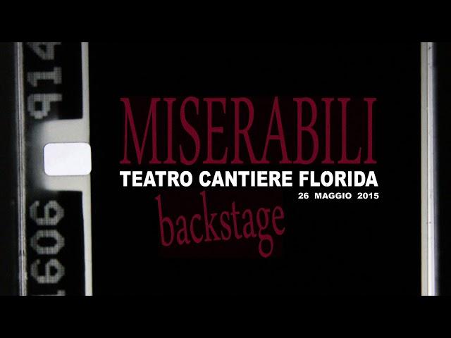 MISERABILI 2015 - backstage cast B - Il Genio della lampada