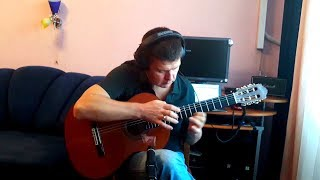 Robert Miles – Children – solo classical / fingerstyle guitar cover