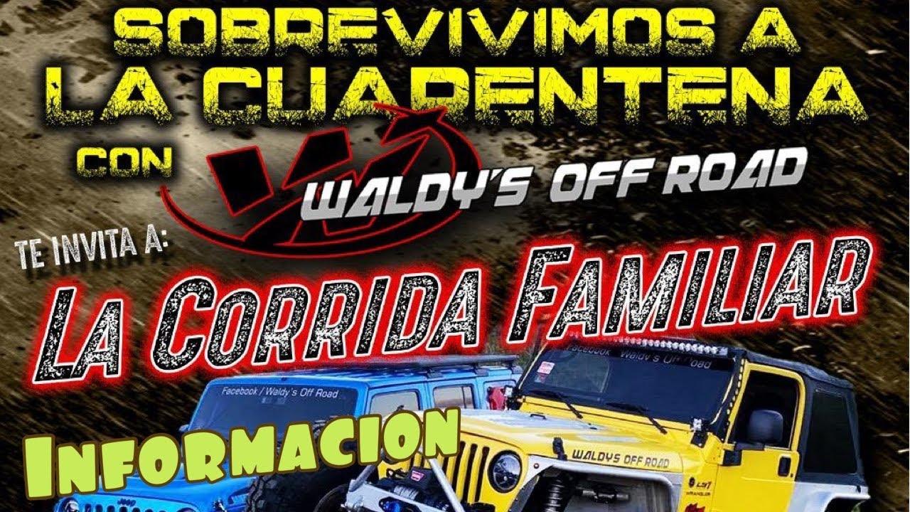 Información de la Corrida Familiar by Waldys Off Road