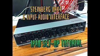 Steinberg UR44 - 6 Input Audio Interface - Set Up Tutorial for the iPad