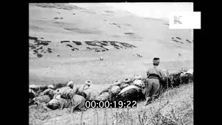 1920s Rif War, North Africa, French Troops, HD