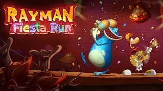 Rayman Fiesta Run Android GamePlay Part 1 (HD) [Game For Kids]