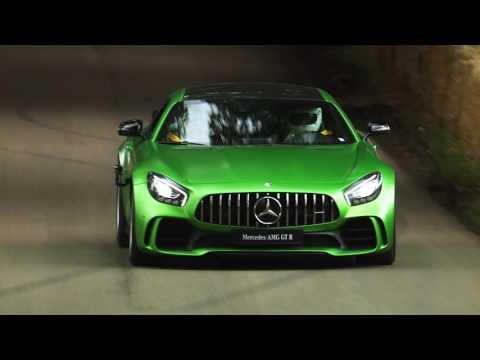 The new Mercedes-AMG GT R at Goodwood | Mercedes-Benz UK