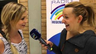 PROMI-TRAINING: ... mit Regina Halmich beim SV Waldhof Mannheim