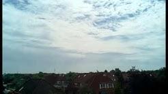Wetter Emden Ostfriesland Zeitraffer vom 26.06.2015