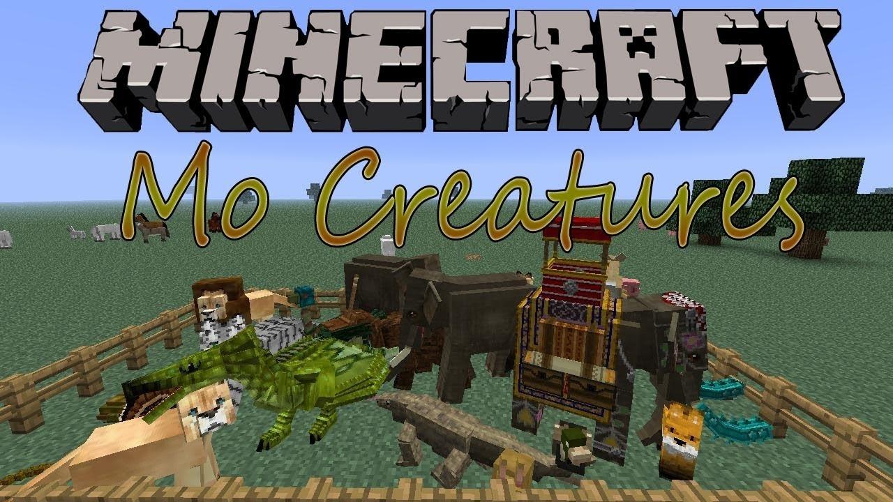 Como Baixar E Instalar Mods No Minecraft Mo 180 Creatures 1