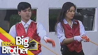 pbb 7 day 216 housemates nahirapan sa kanilang second dream team challenge