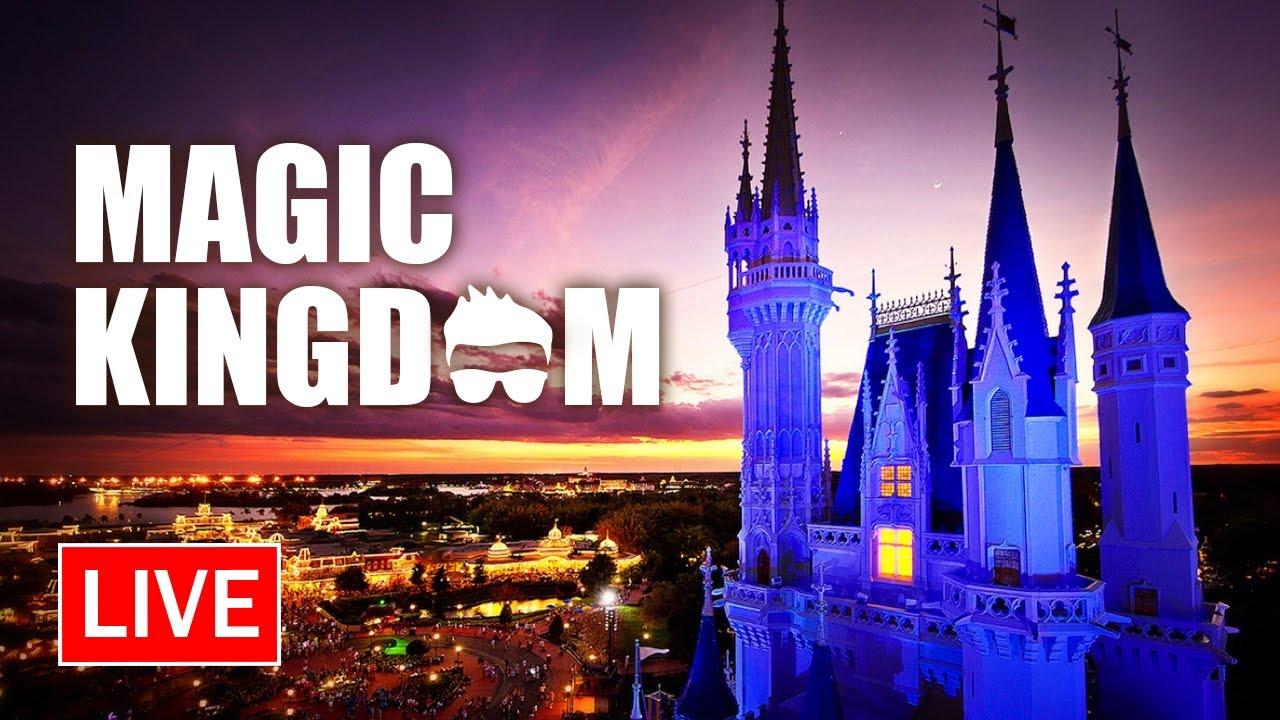 🔴 Live: An Evening from Magic Kingdom | Walt Disney World Live Stream