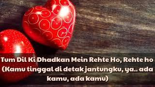 Tum Dil Ki Dhadkan Mein II Terjemahan II Lagu India Romantis