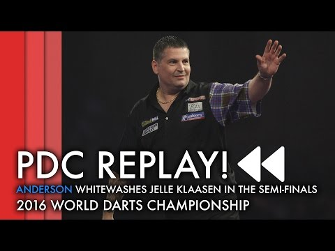 PDC REPLAY | Anderson thumps Klaasen in World Championship Semi-Final