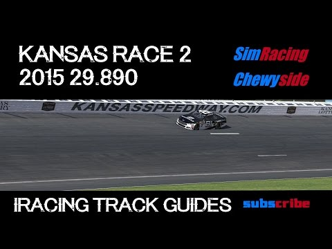 iRacing Track Guides - Kansas Speedway Race 2 2015