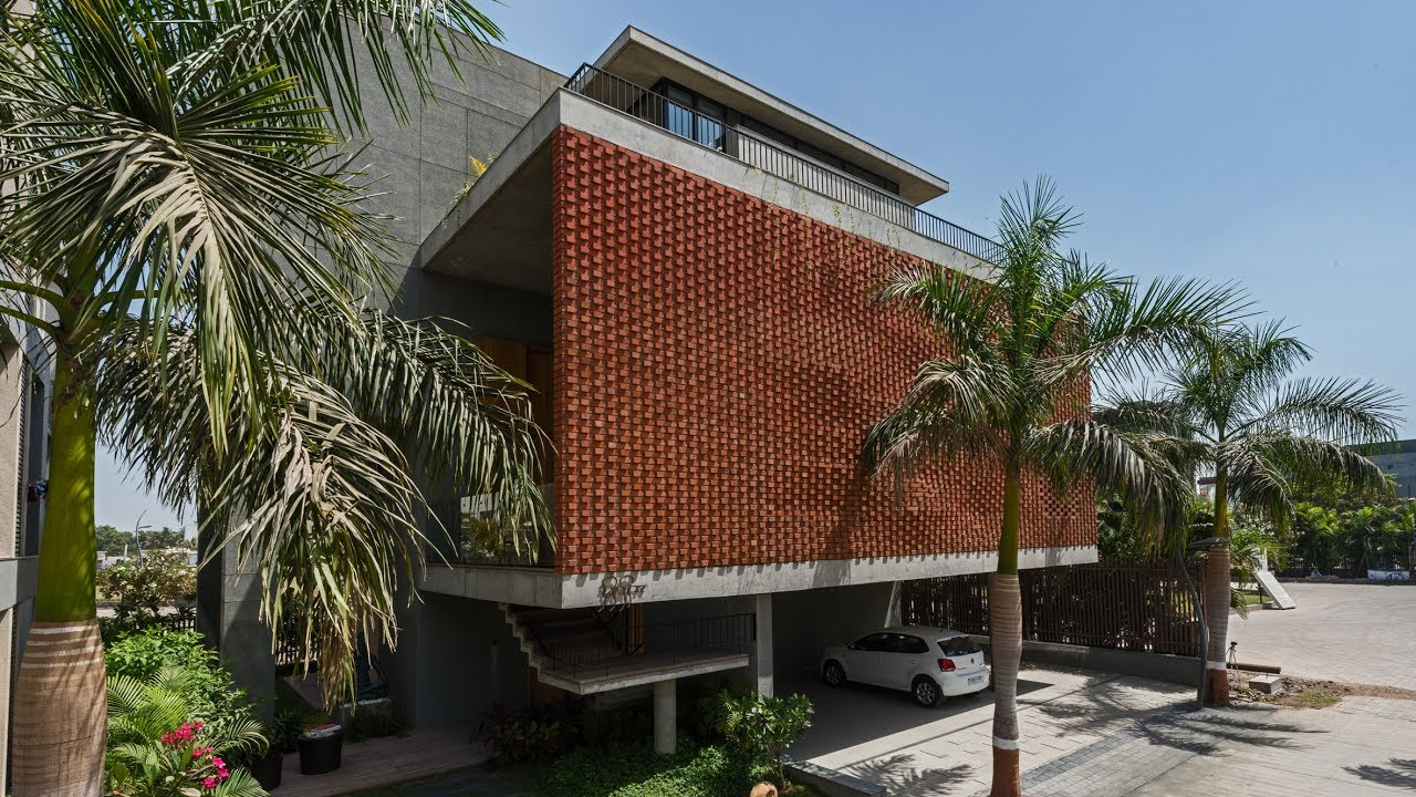 The Making Of Brick Curtain House With Watermark Youtube