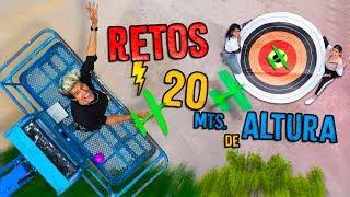 RETOS DESDE UNA GRÚA| LOS POLINESIOS RETO