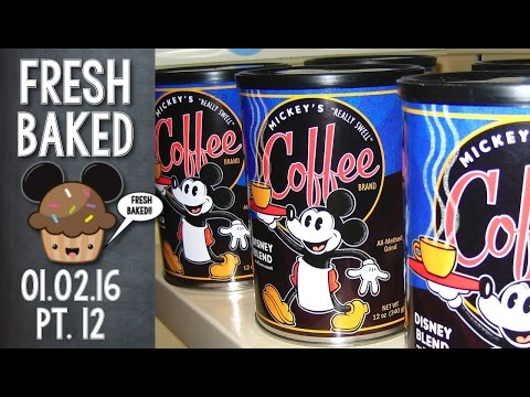Shopping at World of Disney...finding really expensive coffee | 01-02-16 Pt. 12