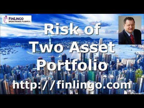 Risk of Two Asset Portfolio