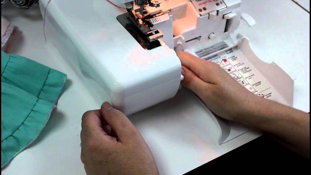 523 NEW Elastic Foot Original Part WHITE SUPERLOCK 534 Serger JAPAN Fit 503