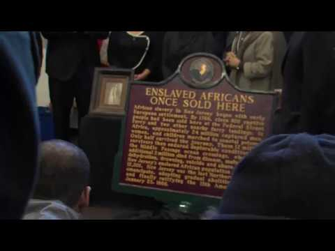 First Historical Markers Recognizing Slave Trade in Camden Unveiled