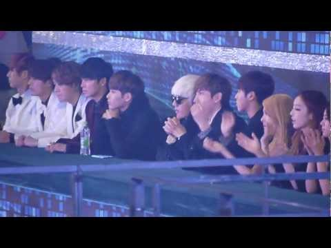 "[FANCAM] SBS 가요대전 Yesung focus ""I Love You - 2NE1"""
