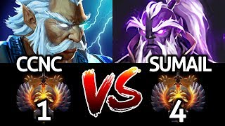 SUMAIL Void Spirit VS CCNC Zeus - The Battle of Top Pro Mid 7.23 Dota 2