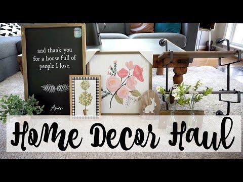 Home Decor Haul: Hobby Lobby, Walmart, Home Depot