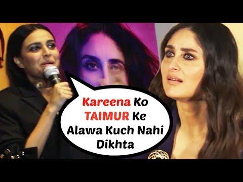 Swara Bhaskar Takes A DIG At Kareena Kapoor For Not Promoting Veere Di Wedding