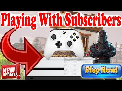 🔴 Playing With Subscribers (READ DESCRIPTION) FORTNITE BATTLE ROYAL LIVE STREAM Xbox one