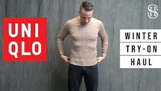 Uniqlo HUGE Try-On Haul | Winter 2018 | Shirts, Sweaters, Chinos, Jackets, and Pajamas?