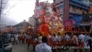Ganesh Chaturthi Utsav [HD]  Vinayaka Nimanjana yathra in Palakkad   Kerala