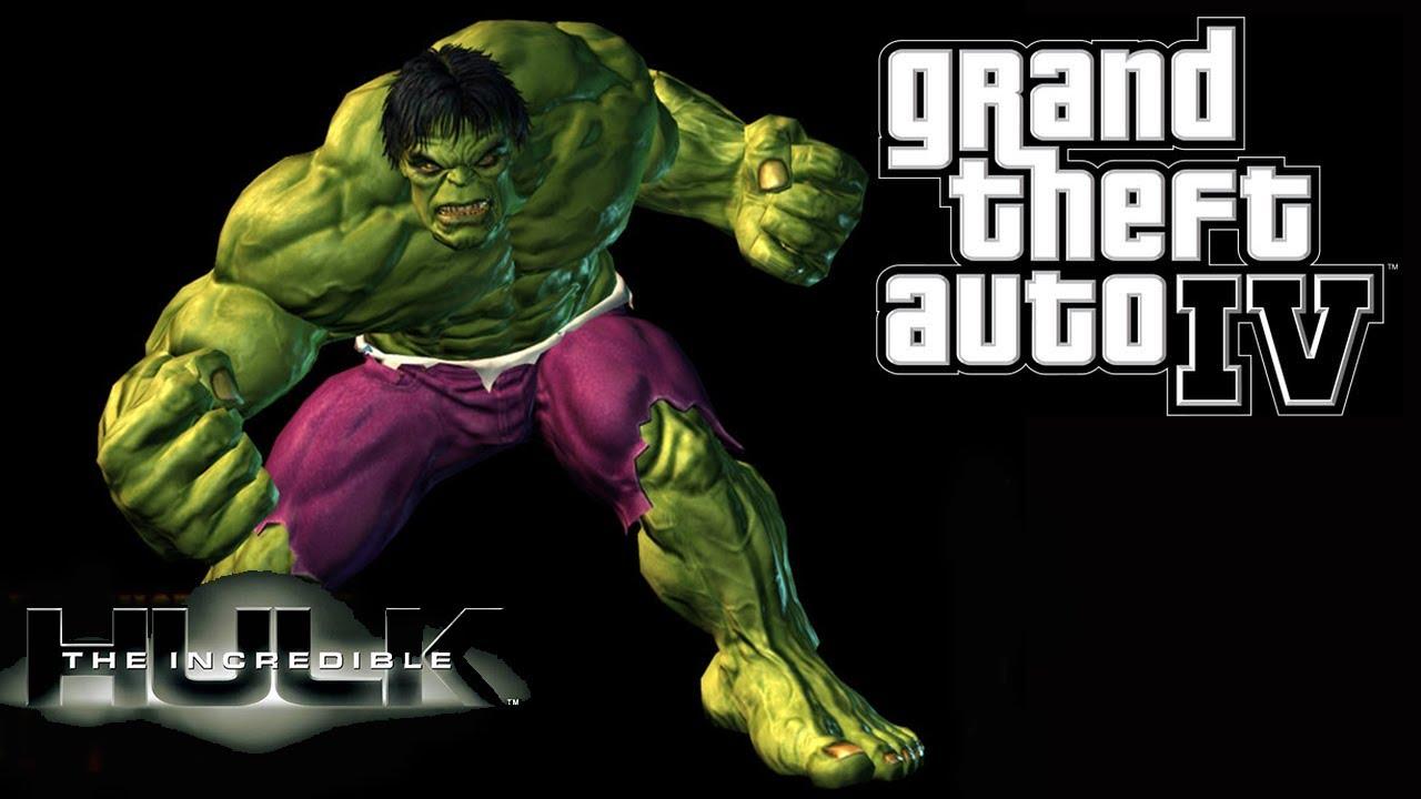 Grand Theft Auto IV - Hulk Mod - The Incredible Hulk