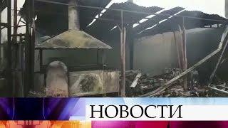 В Сочи разбираются в причинах пожара в частном доме, в результате которого погибли восемь человек.
