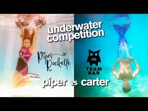 Epic Underwater Photo Challenge ft/ Piper Rockelle Squad vs Carter Sharer Team RAR - Jordan Matter