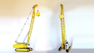 LEGO Technic - Liebherr Cable Excavator HS 855 / 873 (Clamshell Equipment) - MOC