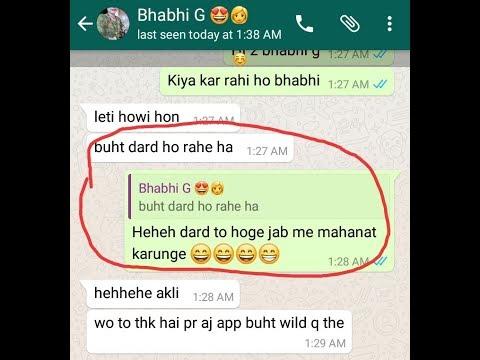 Bhabhi 😗 Ki 😍 Chatting 😘Night Wali 💓