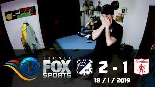 Reacciones Millonarios 2 vs America de Cali 1 | Torneo Fox Sports 2019