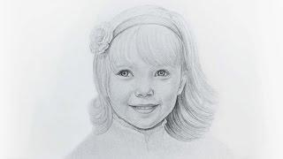 УСКОРЕННОЕ ВИДЕО. Как нарисовать ребенка карандашом - ArtSchool(Привет дорогие друзья. В этом видео мы Вам покажем ускоренное видео - как нарисовать лице ребенка карандашо..., 2016-06-09T16:55:58.000Z)