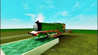 Thomas and Friends Henry will fall into a dirty water Accidents will happen Thomas train
