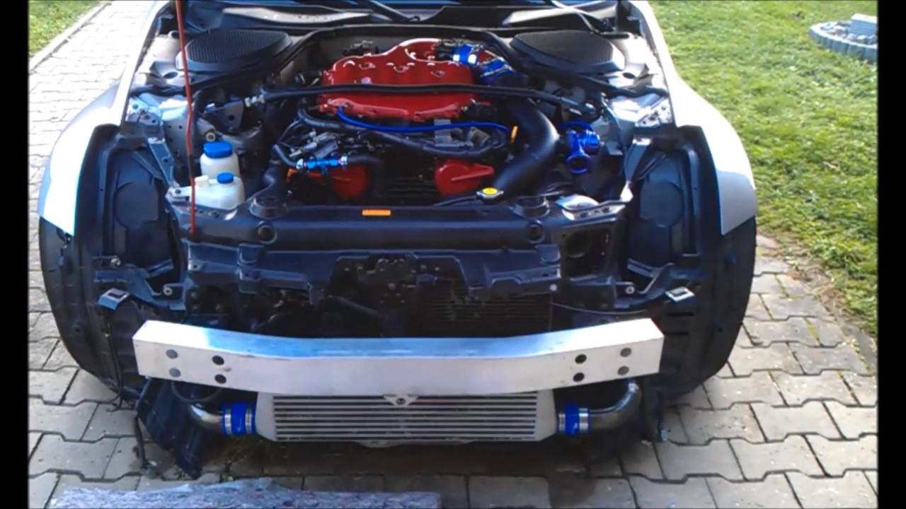 Nissan 350z single turbo kit