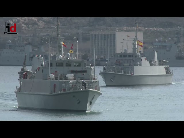 El cazaminas Segura se integra en la Agrupación Permanente de Medidas Contraminas de la OTAN