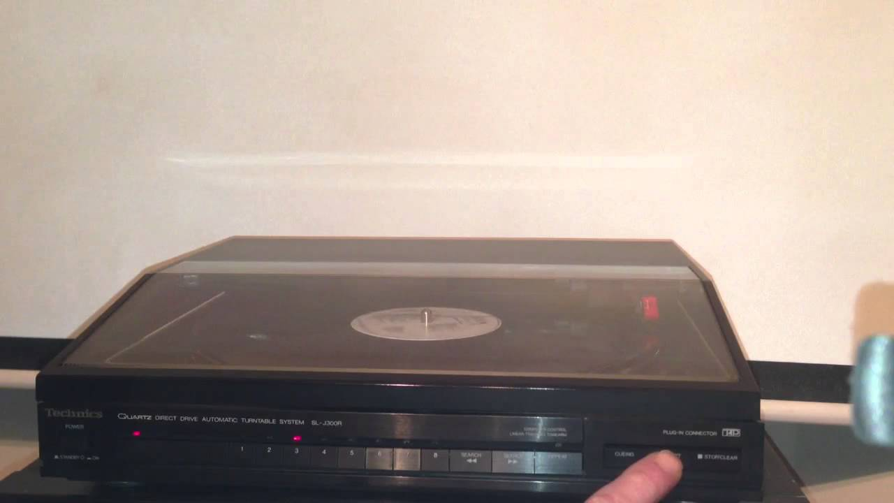 Technics Sl J300r Youtube