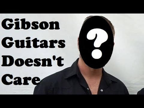 Another Artist Leaves Gibson Guitars: Says They are Falling Apart