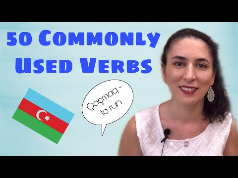 Learn Azerbaijani: 50 Commonly Used Azerbaijani Verbs