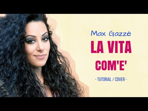 La vita com'è (Max Gazzè) - MARA BOSISIO [cover + accordi]