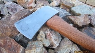 Making A Mesquite Wood Axe Handle