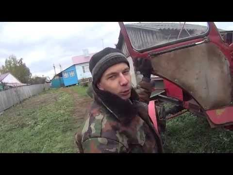 Как завести трактор мтз 80 с пускача видео инструкция