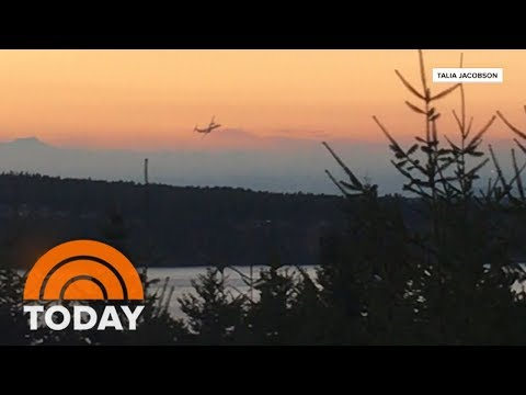 CK - VIDEO: Airline Worker Steals Plane From Seattle Airport Before Crashing