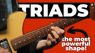 5 WAYS THE PROS USE TRIADS (that everyone should know!)