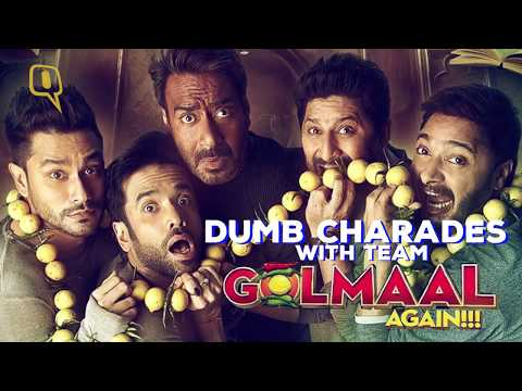 This Game of Dumb Charades With Golmaal Team will Make you ROFL!